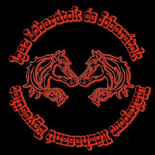 Igaz Lóbarátok és Jóbarátok Diáksport Közhasznú Egyesület címere